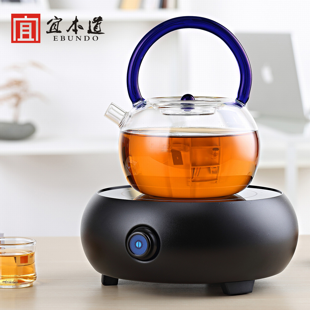 Thick pyrex gantry pot large capacity color gantry teapot boiling kettle boiling kettle boiling kettle electric ceramic heaters Tea is