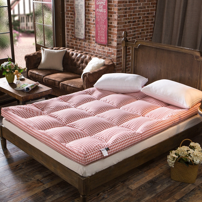Thick velvet feather mattress thick tatami mattress mattress quilted mattress bedding 1.5/1. 8 bed student dormitory 1.2