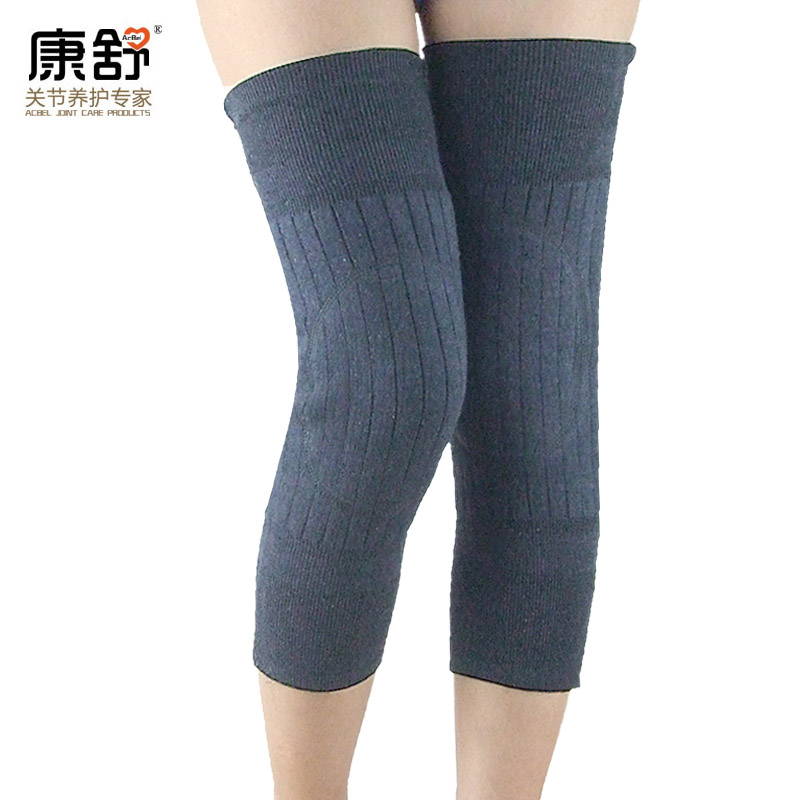 Thick wool cashmere knee arthritis old cold legs knee elderly men and women in autumn and winter warm knee shin protectors