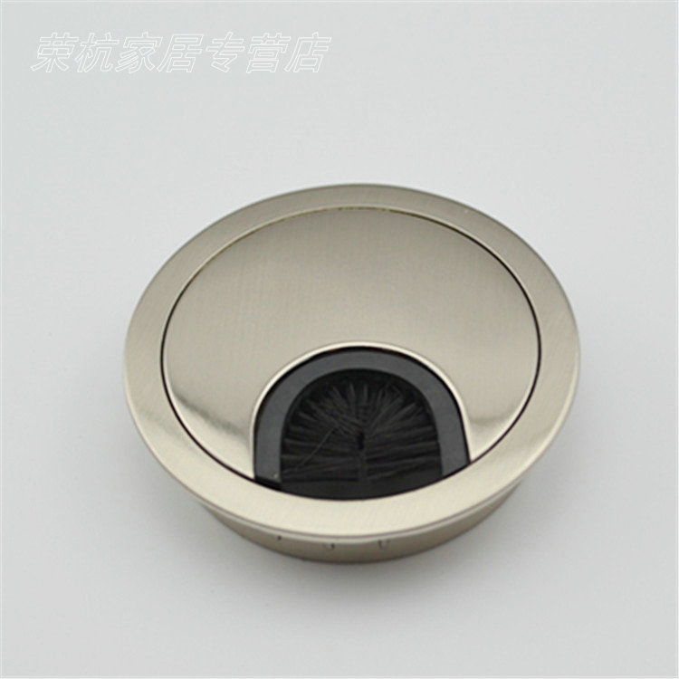 Thick zinc alloy threading box box box computer desk to go boxes line the manhole cover threading hole wire drawing color 50 Mm
