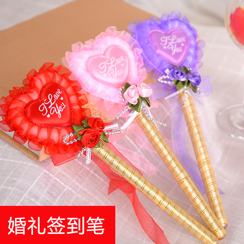 Think of josé euclidian golden wedding sign pen wedding supplies wedding supplies wedding scene color creative paint pen signature pen