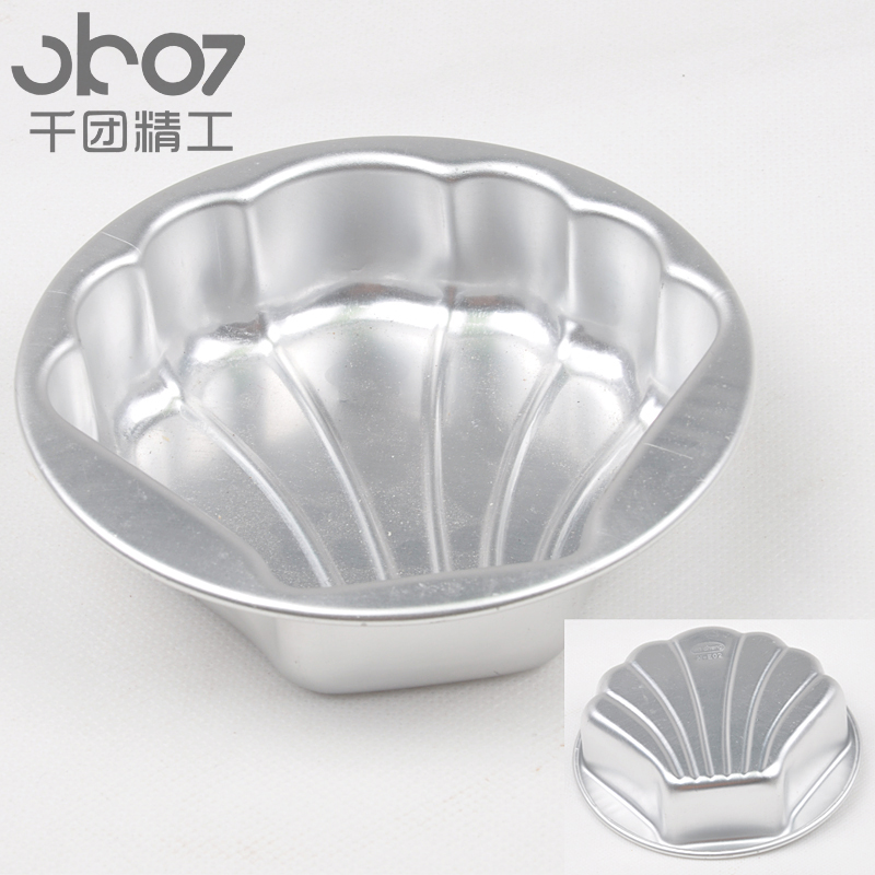 Thousands of groups seiko baking clam shaped baking mold cake cup cake baking mold pudding mold