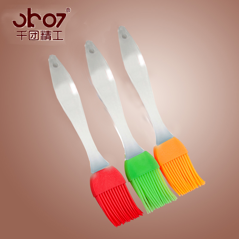 Thousands of groups seiko silicone baking brush brush brush grill brush brush brush oil brush brush brush egg transparent silicone brush to brush a baking tools