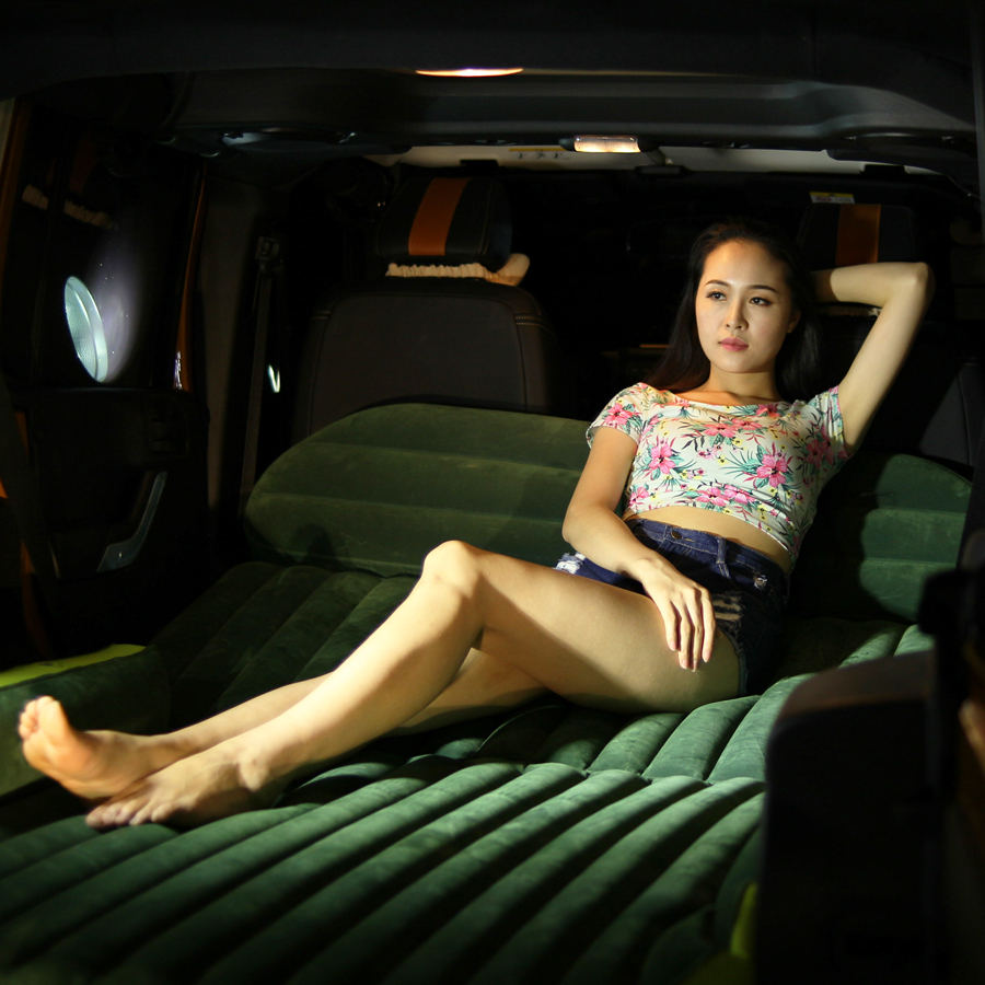 Tianjin cloth car shock bed car bed bed steam car rear inflatable mattress air bed  v
