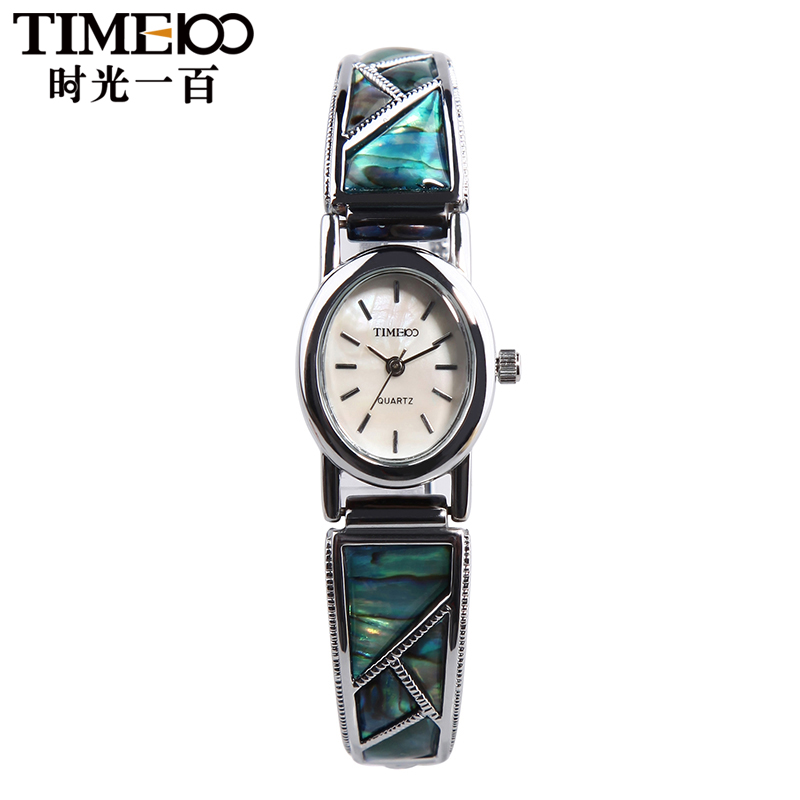 Time100/time retro flash diamond bracelet watch quartz ladies watches fashion female form one hundred