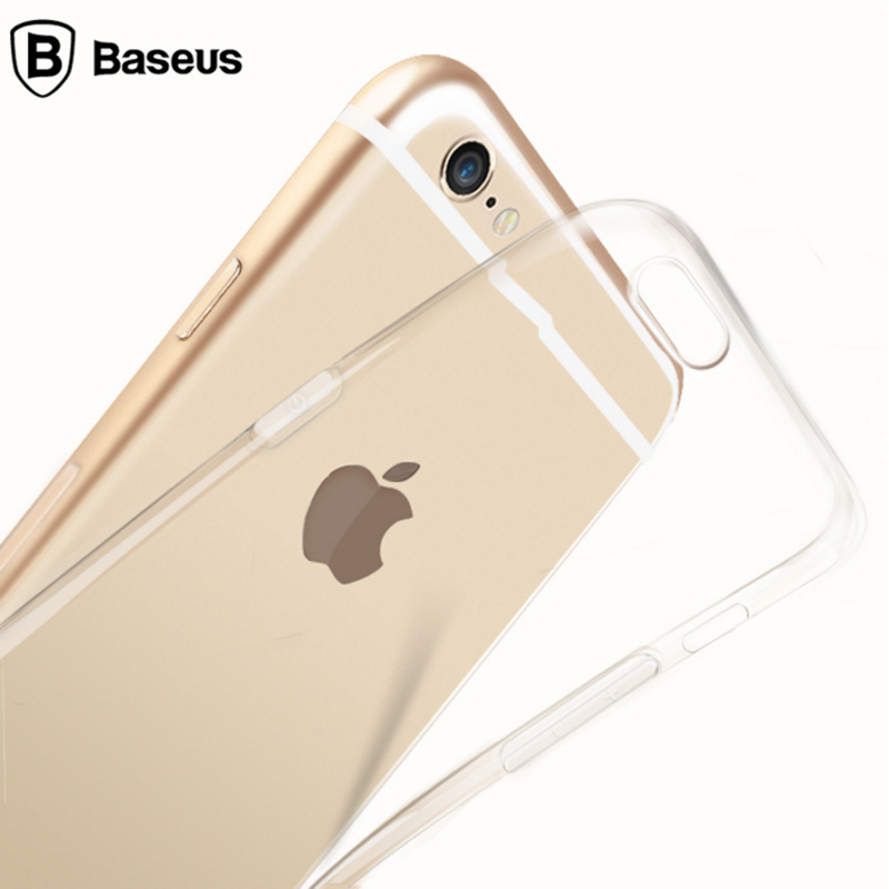 Times thinking baseus iphone 6 apple phone shell 6 thin transparent soft shell mobile phone sets 4.7 ip6 inch shell