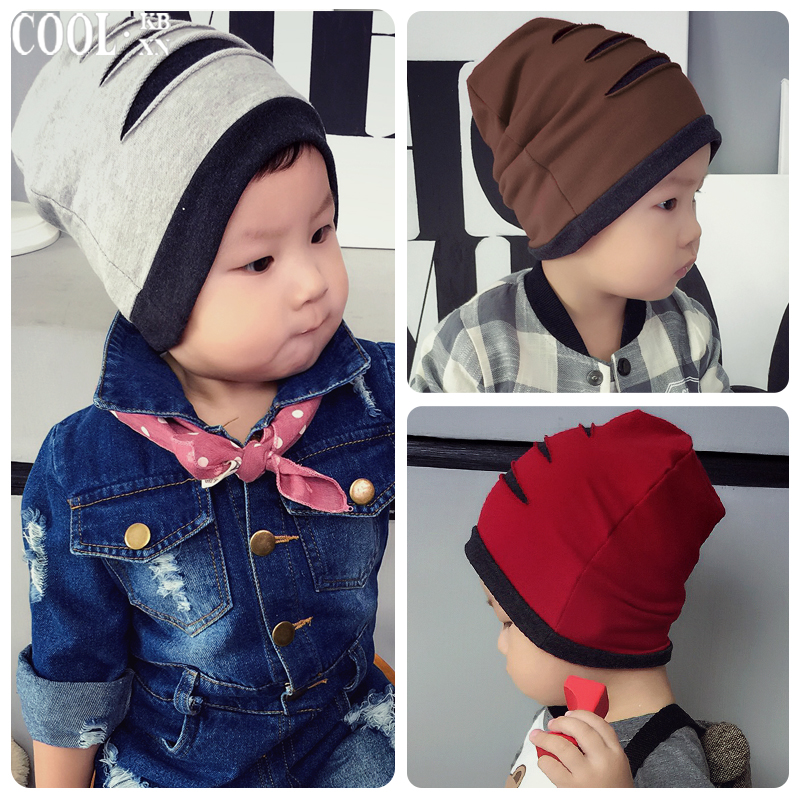 Tire cap newborn 1-2-year-old 0--3--6--12 months baby hat baby hat hedging spring tide autumn and winter hats for children
