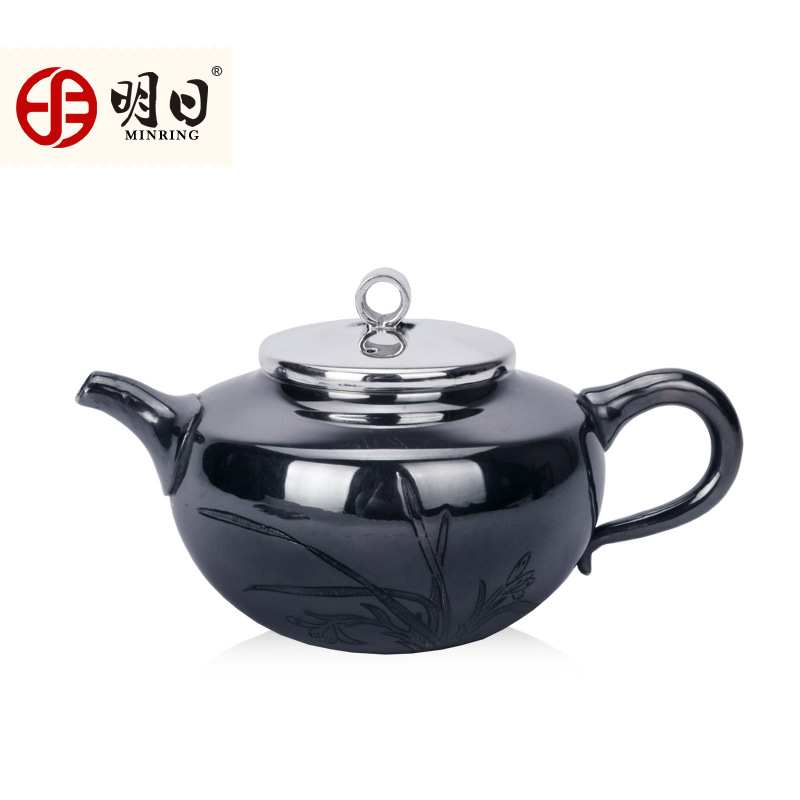 Tomorrow silver fine silver 999 silver yin hu handmade teapot kung fu tea pot teapot japanese imitation of the old