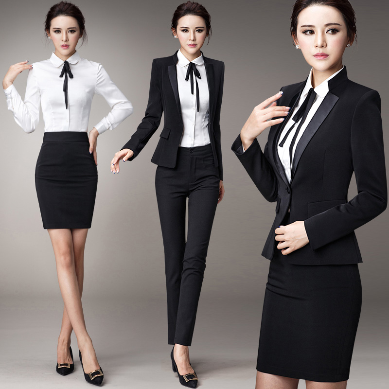6c8e221d83 Buy Tone shuya women wear suits slim ladies dress suit interview suit suits  fall and winter long sleeve in Cheap Price on Alibaba.com