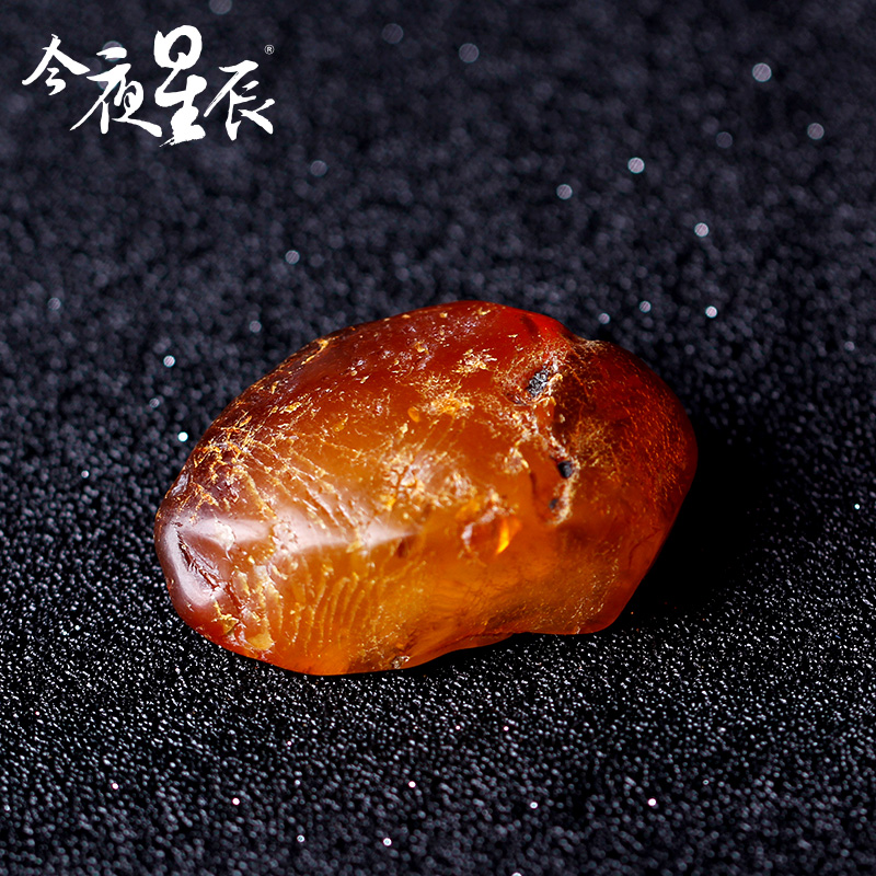 Tonight ramandu 5-10g no optimization of natural amber beeswax original stone crack miscellaneous material handling material 9.5 yuan/g