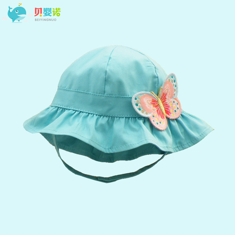 Get Quotations · Tony snow infant baby spring and summer hat cotton baby hat  bucket hats sun hat sun 7140e24b14c