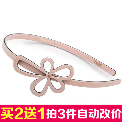 Toothed belt slip diamond female korean fashion wild hair accessories flower hair band headband pressure hair cave cave cave head diamond tiara