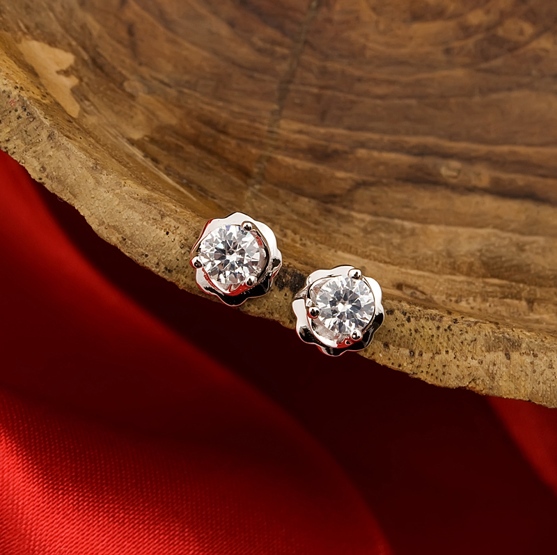 Township romance 925 silver earrings female korean cute ear jewelry hypoallergenic earrings fashion earrings