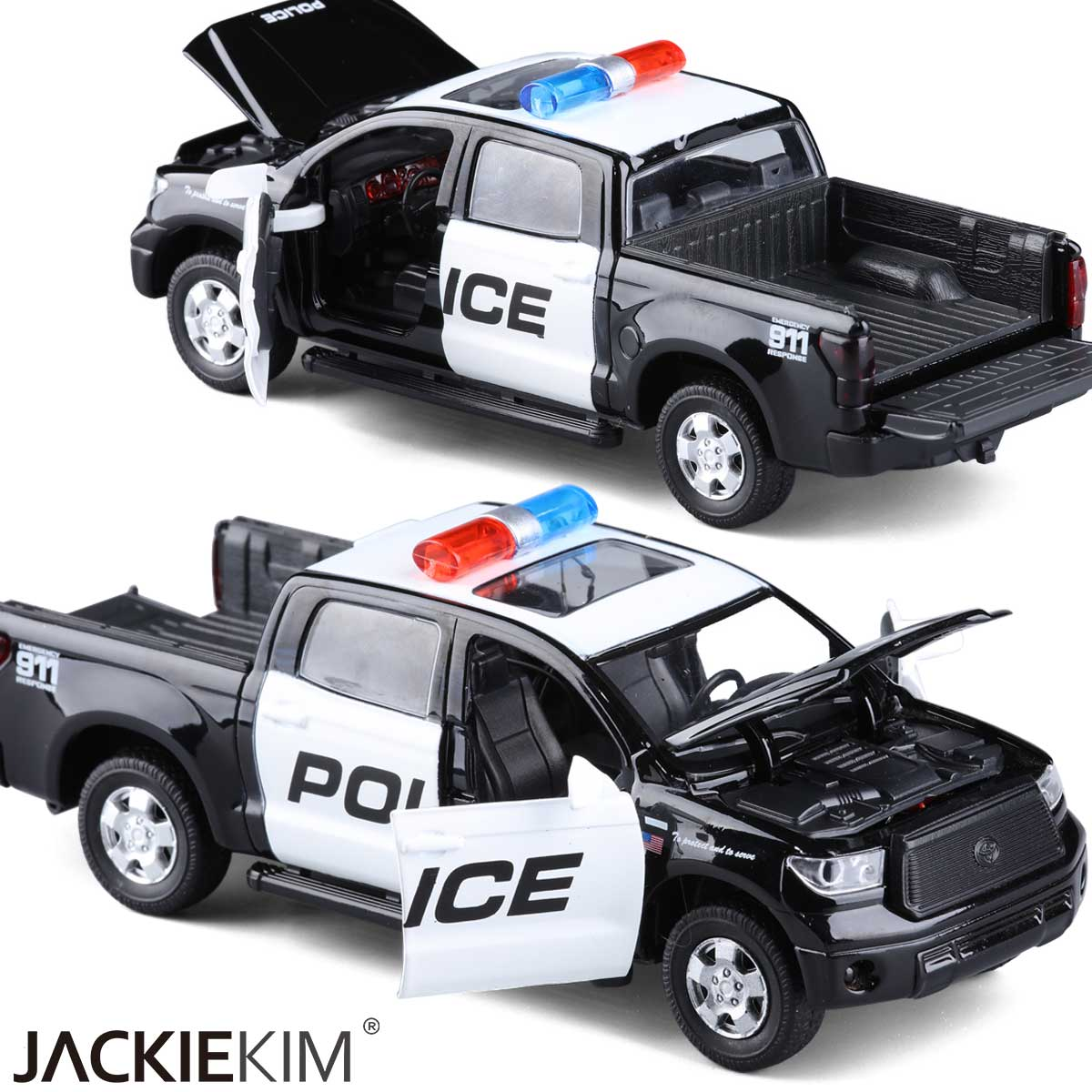 Toyota pickup smooth 1:32110 more wild american police car toy car alloy car models car chinese swat team