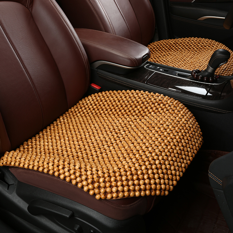 Toyota prius crown cause dazzle leiling yi cause seat monolithic backless seat cushion wooden bead seat cushion summer car mats