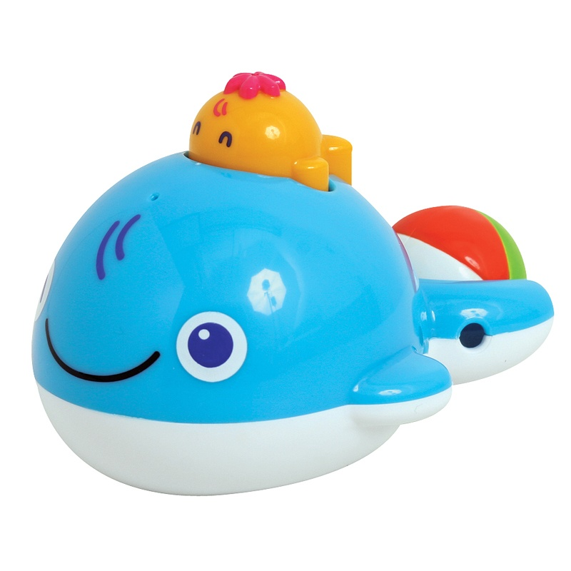 Toyroyal japanese royal bath toy whale infants and young children safe and nontoxic