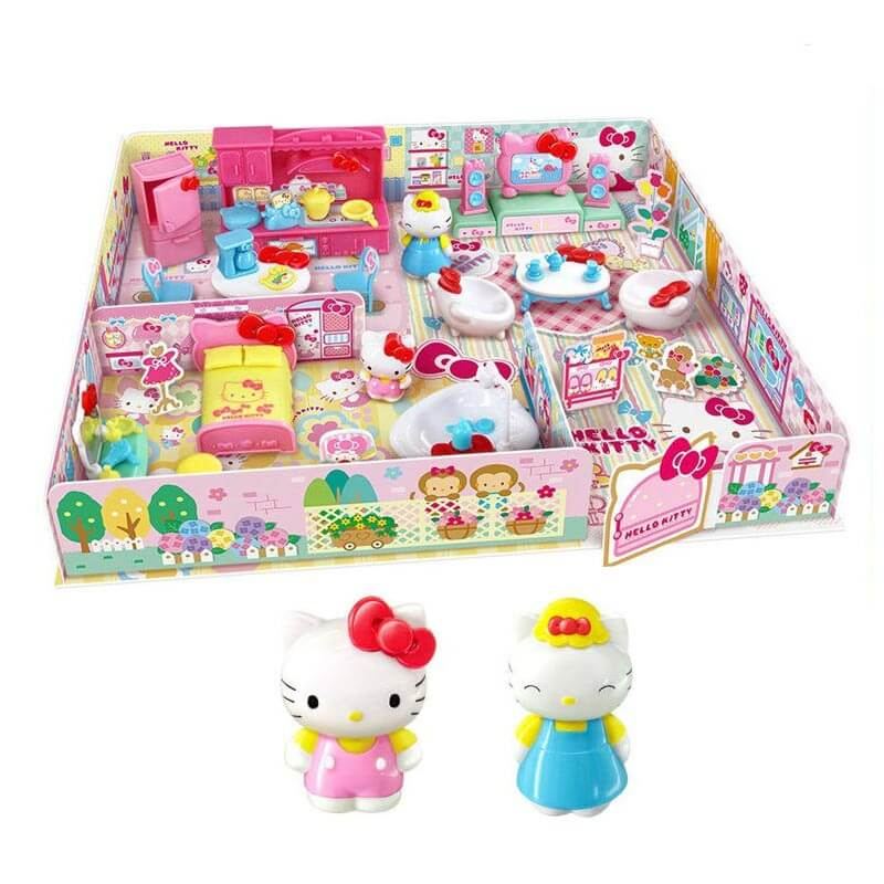 9cdfd9ecbda1 Get Quotations · Toys r us hello kitty hello kitty children s home suit  girl toy play house gift