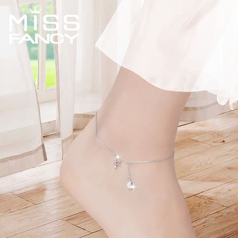 anklets dixi black bohemian shop versailles jewellery gold collections anklet shopping