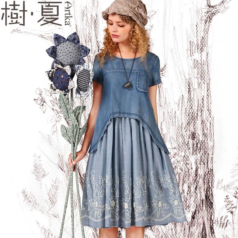 Купить Джинсовое Платье С Доставкой