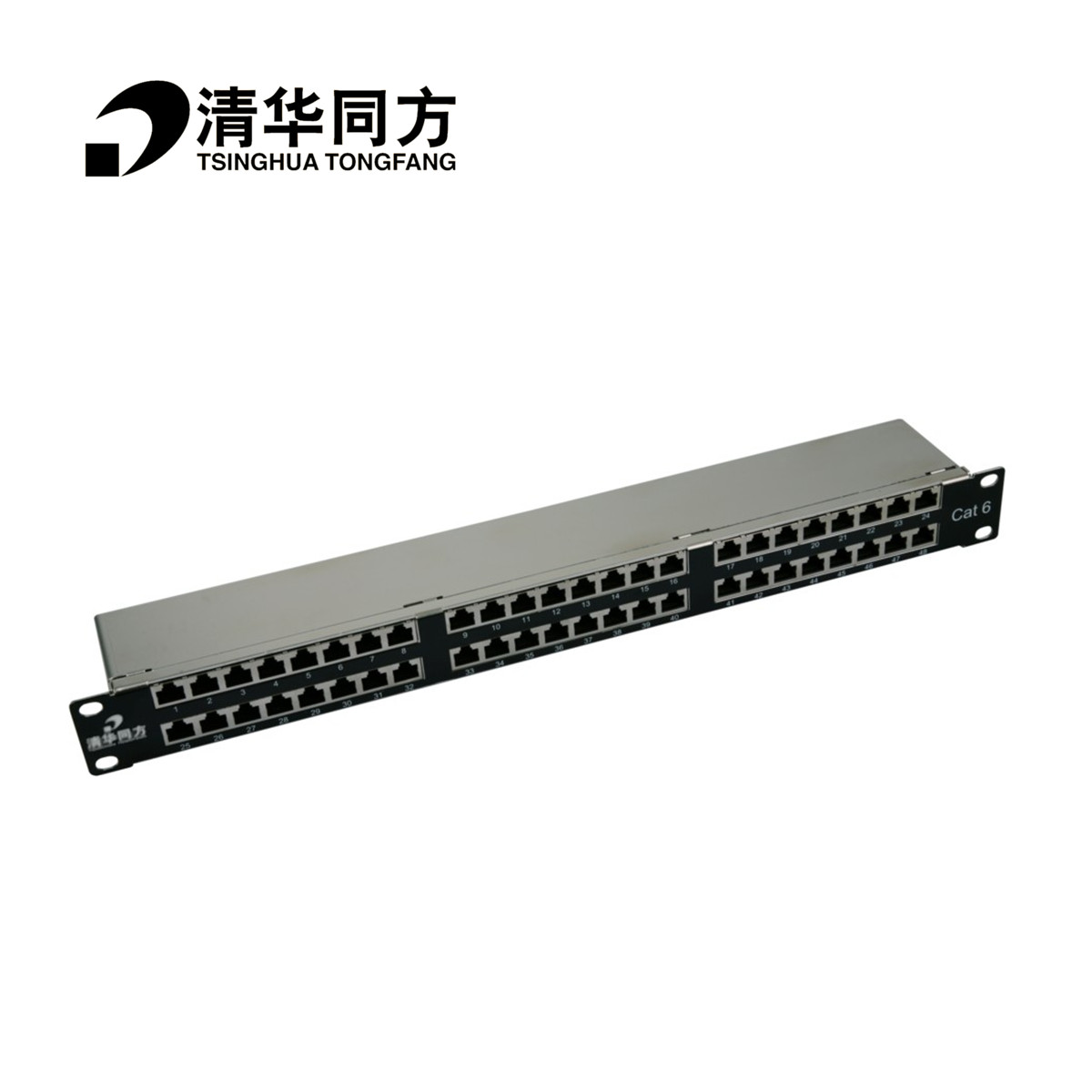 China Cat6 Patch Panel Shopping Guide At Wiring A Tsinghua Tongfang Rota Six Category 48 Shielded Data Network Module With