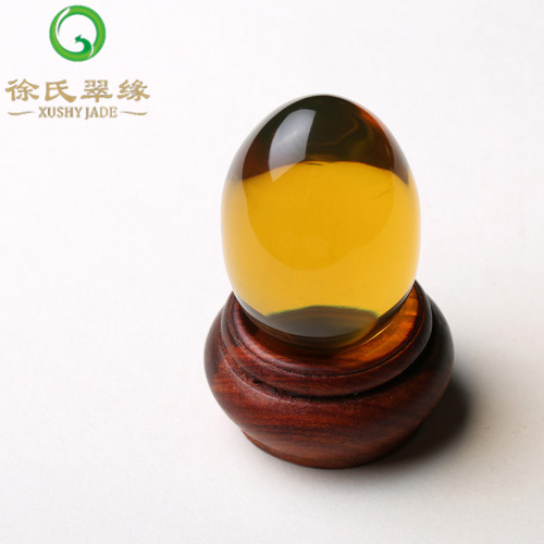 Tsui tsui edge jewelry natural burmese amber natural amber ornaments responsive ornaments with a certificate