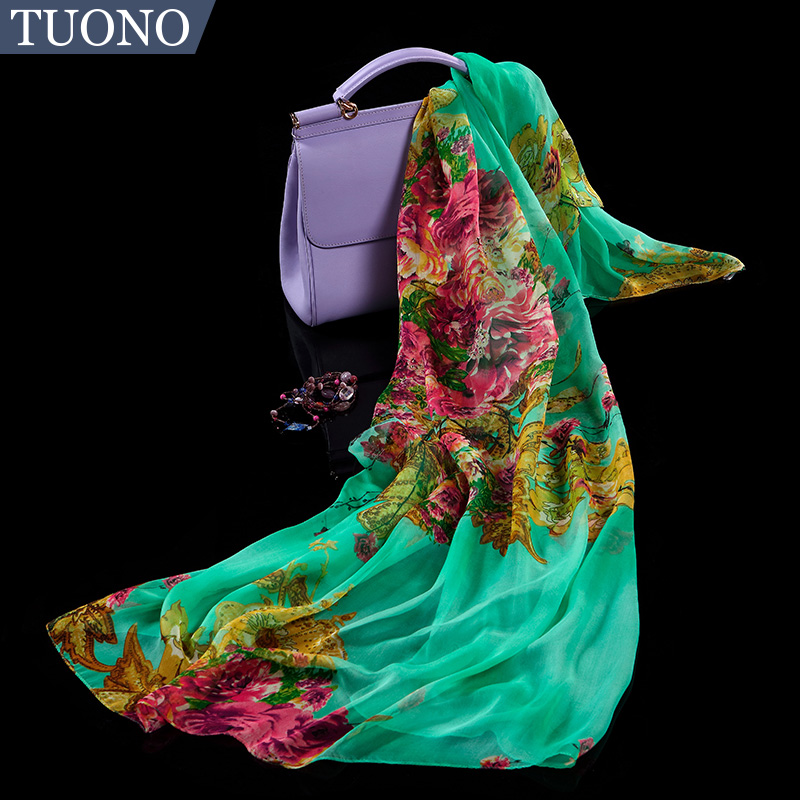 Tuono tono 2016 new silk silk scarf spring and autumn wild long section of ms. upscale silkworm silk scarves