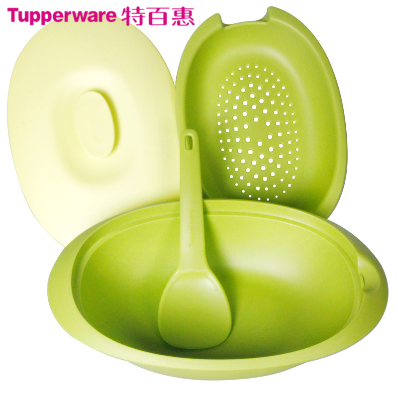 Tupperware in green leisure creative casual outdoor picnic bag picnic bag picnic cutlery sets 8 sets