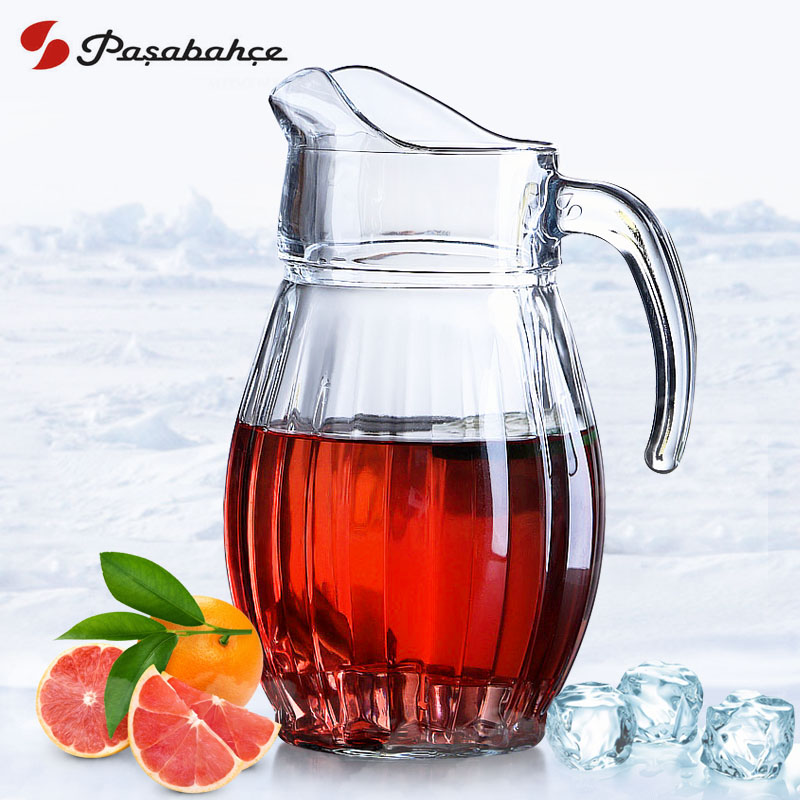 Turkey imports large capacity teapot kettle of hot and cold temperature glass cup cold water kettle cool heat