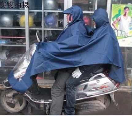 Tyrannosaurus raincoat single double poncho universal motorcycle electric car