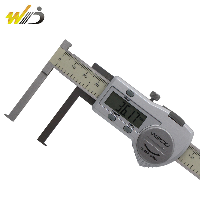Uélé 361-degree hook groove blade within the number of digital calipers 8-150 13-200 15-300 card electronic digital calipers