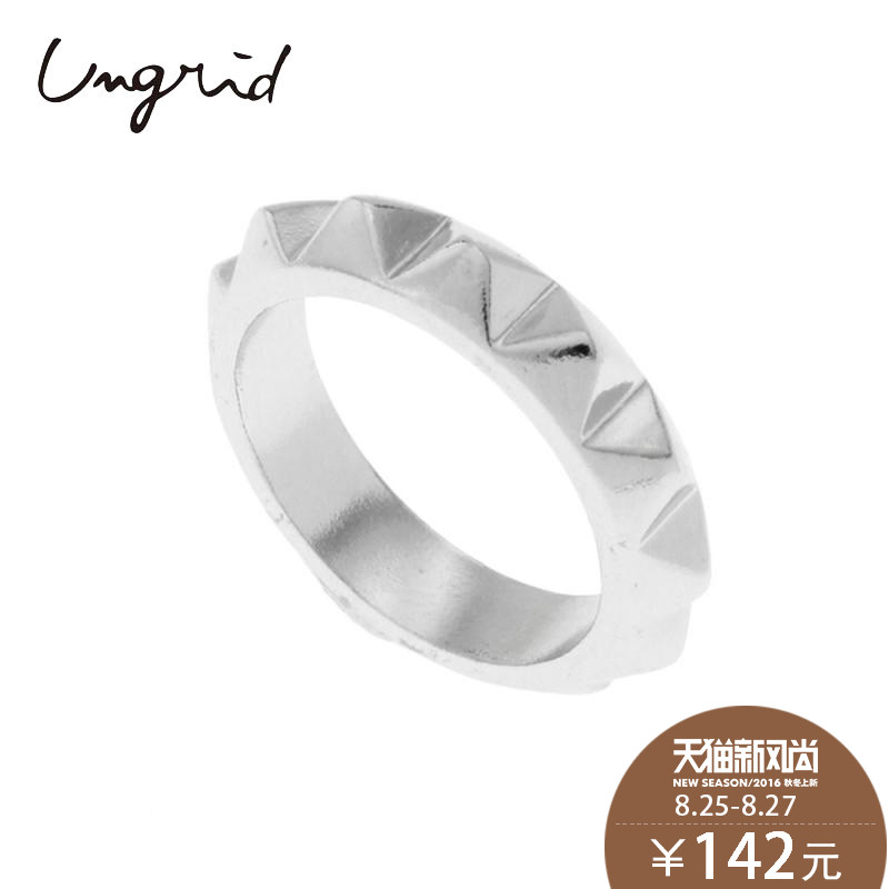 Ungrid spring and female models rivet korean fashion wave of people ring ring tail ring