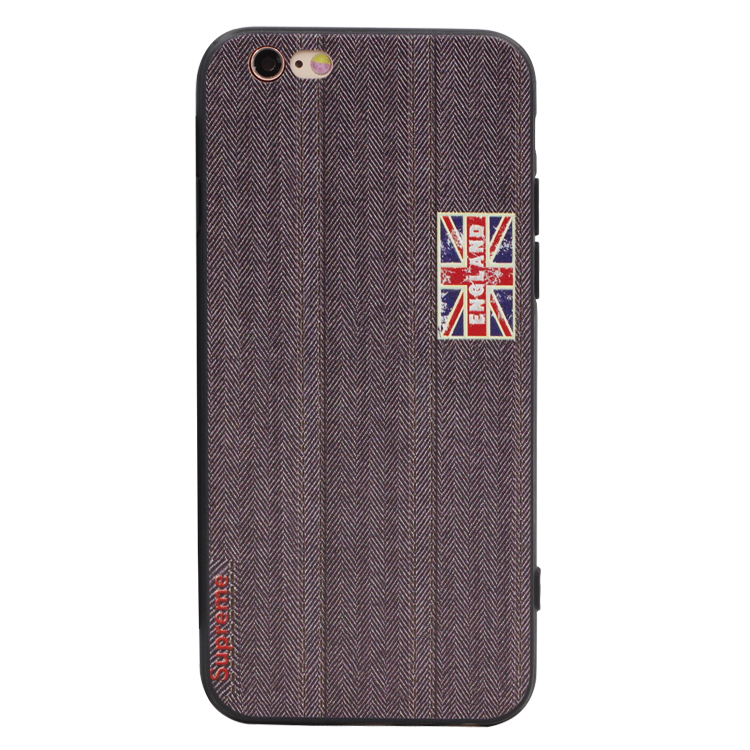 Union jack british style 6 s apple iphone6plus phone shell protective sleeve silicone soft shell relief packages