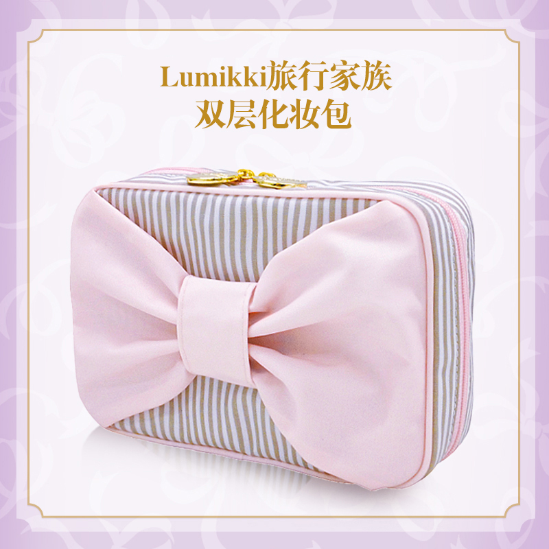 United church makeup shobi lumikki organ organ package package female waterproof makeup bag large capacity portable storage wash bag