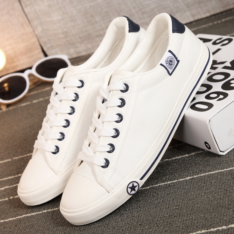 Universal spring and summer to help low canvas shoes student shoes white casual shoes korean version of the influx of men and women shoes canvas shoes lovers