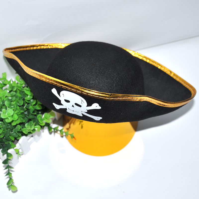 Urban party tiara cosplay halloween pirate captain jack pirate hat skull cap