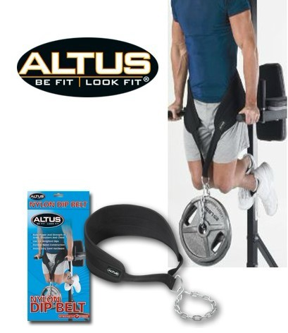 Us altus aite si weight belt with chains pull-up single and double barbell fitness training