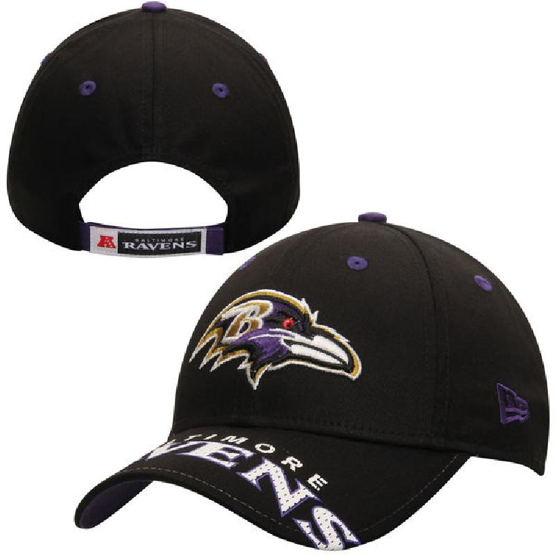 Us direct mail nfl baltimore ravens 2112225 new cotton men hat adjustable baseball cap