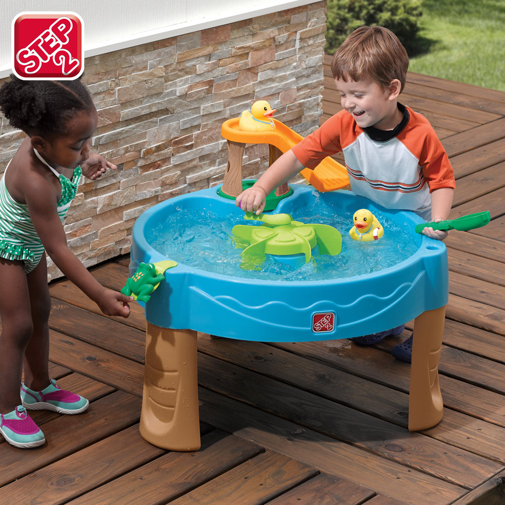 Us imports step2 authentic children's play sand splashing water tables game tables indoor bathing tools small wasairtightbefore sand water table