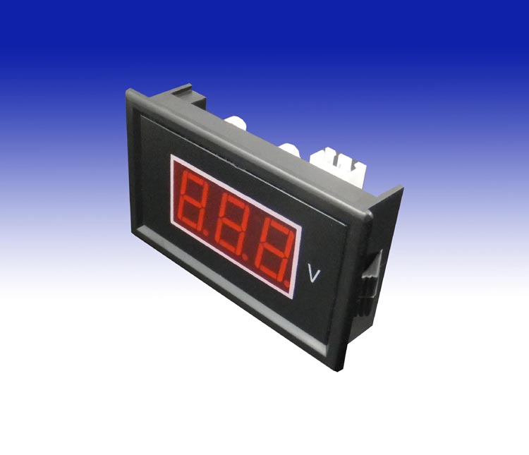V85A two lines ac60-500v ac digital voltmeter digital voltmeter head 0.56 inch led without power