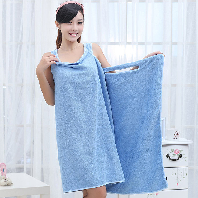 Variety magic absorbent male and female adult children can be worn towels  bath robes warm towel ee2f37778