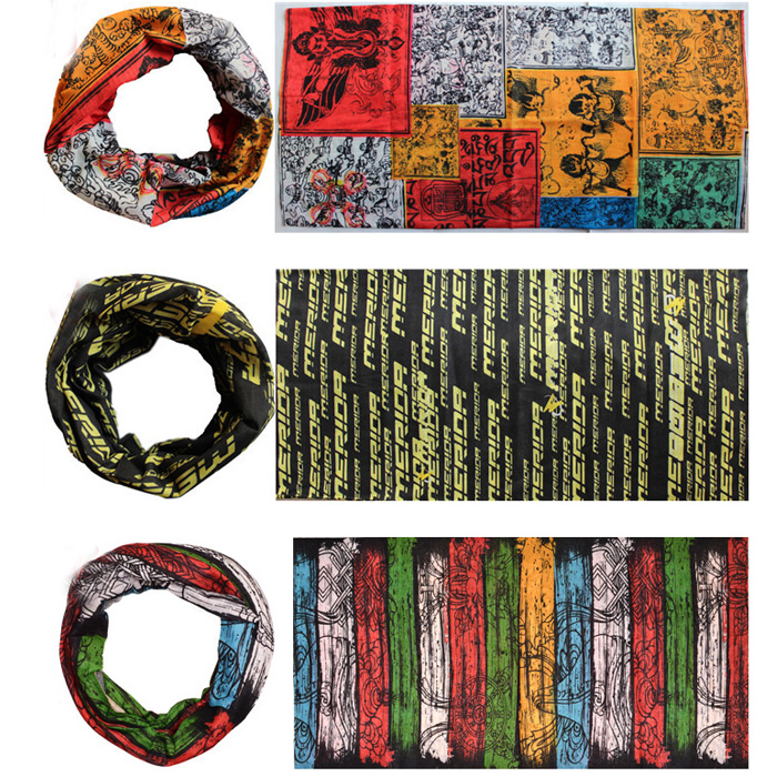 Variety of outdoor riding scarf seamless magic scarf riding a mountain bike cycling scarf scarf washcloth