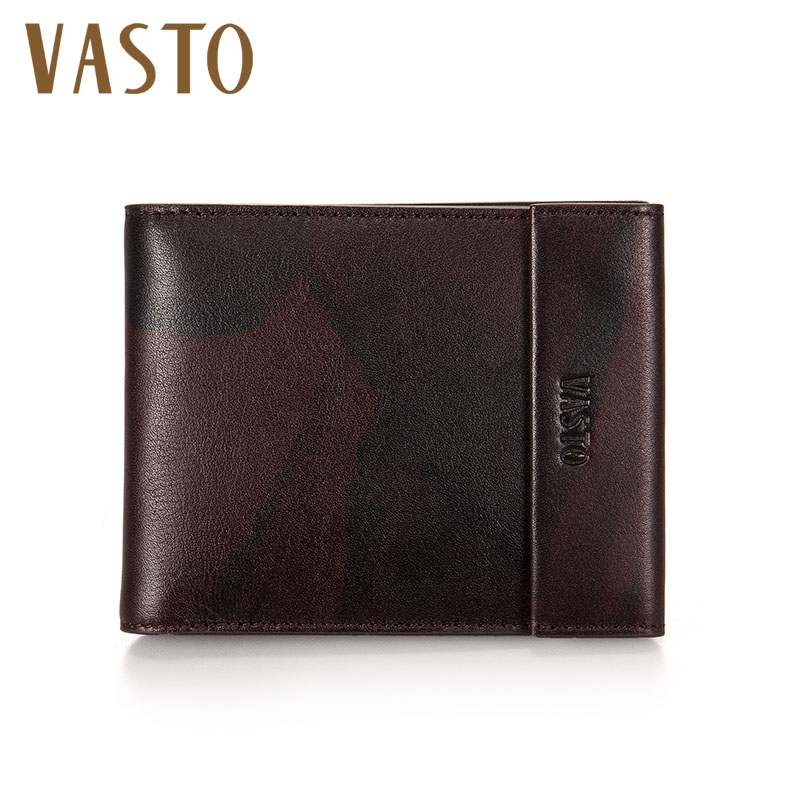 Vasto/vasto 2016 new spring and summer cowhide leather cross body retro purse 1611713 0112