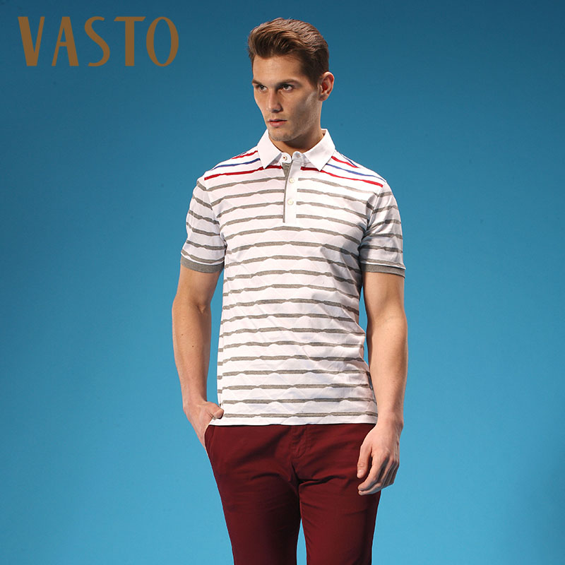Vasto/vasto spring and summer striped t-shirt 141305166