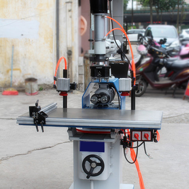 Vertical and horizontal drilling woodworking machinery woodworking woodworking drill multiaxial steam moving three head drill pneumatic drill pneumatic drill machine