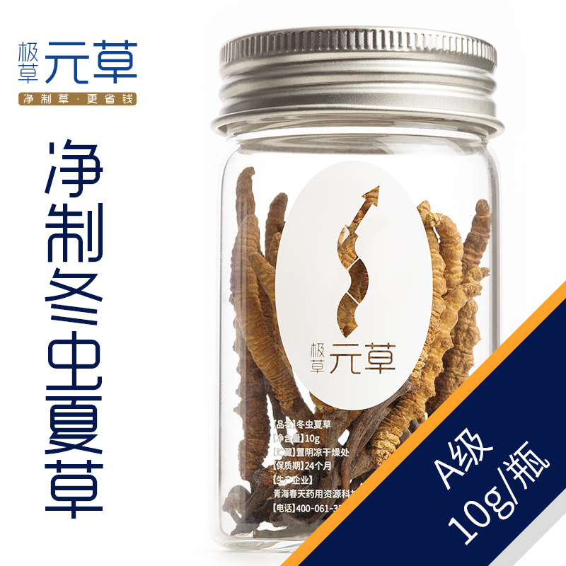Very grass cordyceps ·å…ènet system <gmp standard production cleaner and healthier> a grade 10g/ Bottle