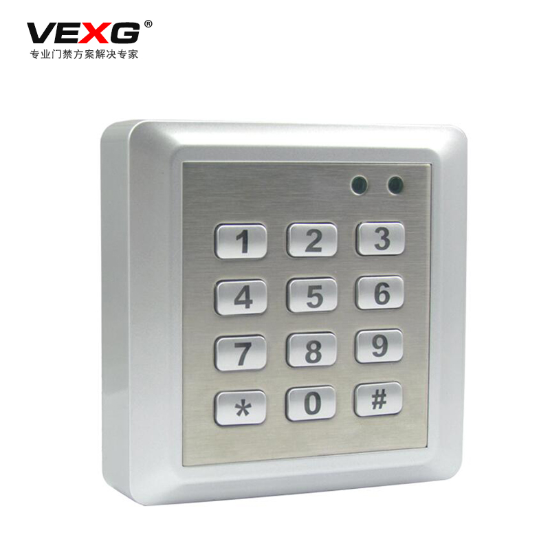 Vexg access control single door access one machine with key machine machine large capacity waterproof access control controller
