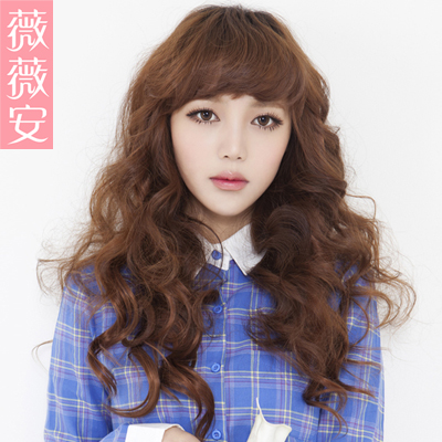 Vivian wig hair piece hair extension hair piece pick hair piece simulation hair wig short hair becomes longer g_2 belle