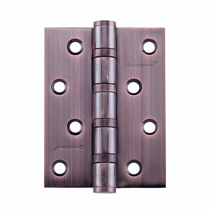 Vogue door hardware stainless steel hinge AW4110F-4x4x3-4BB-20 red bronze flat head hinge hinge/pay