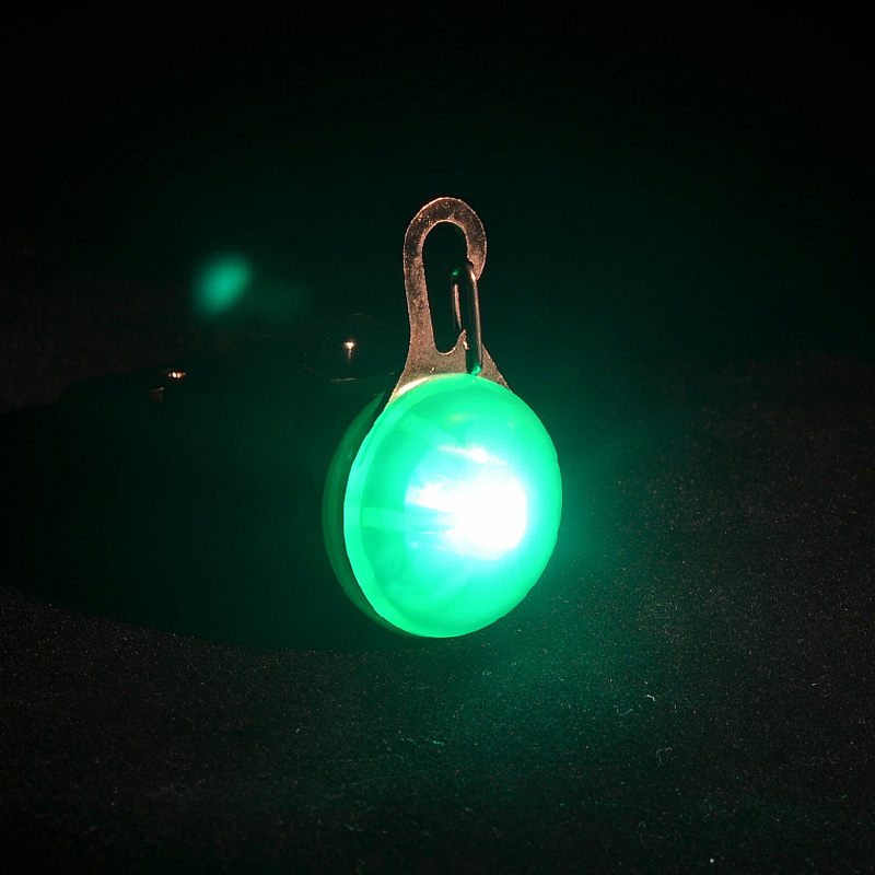 Walk the dog at night artifact led luminous pet dog cat pendant pendant lamp luminous flash cards anti lost