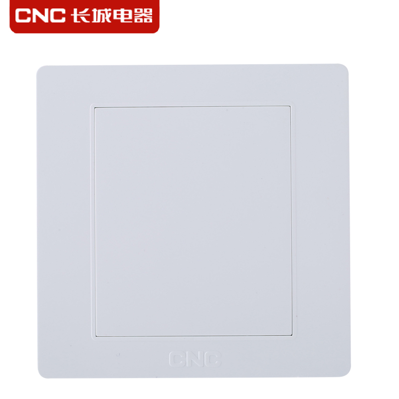 Wall switch socket panel wall 86 cnc switch blank panel F1-701 modified version of the block with a white